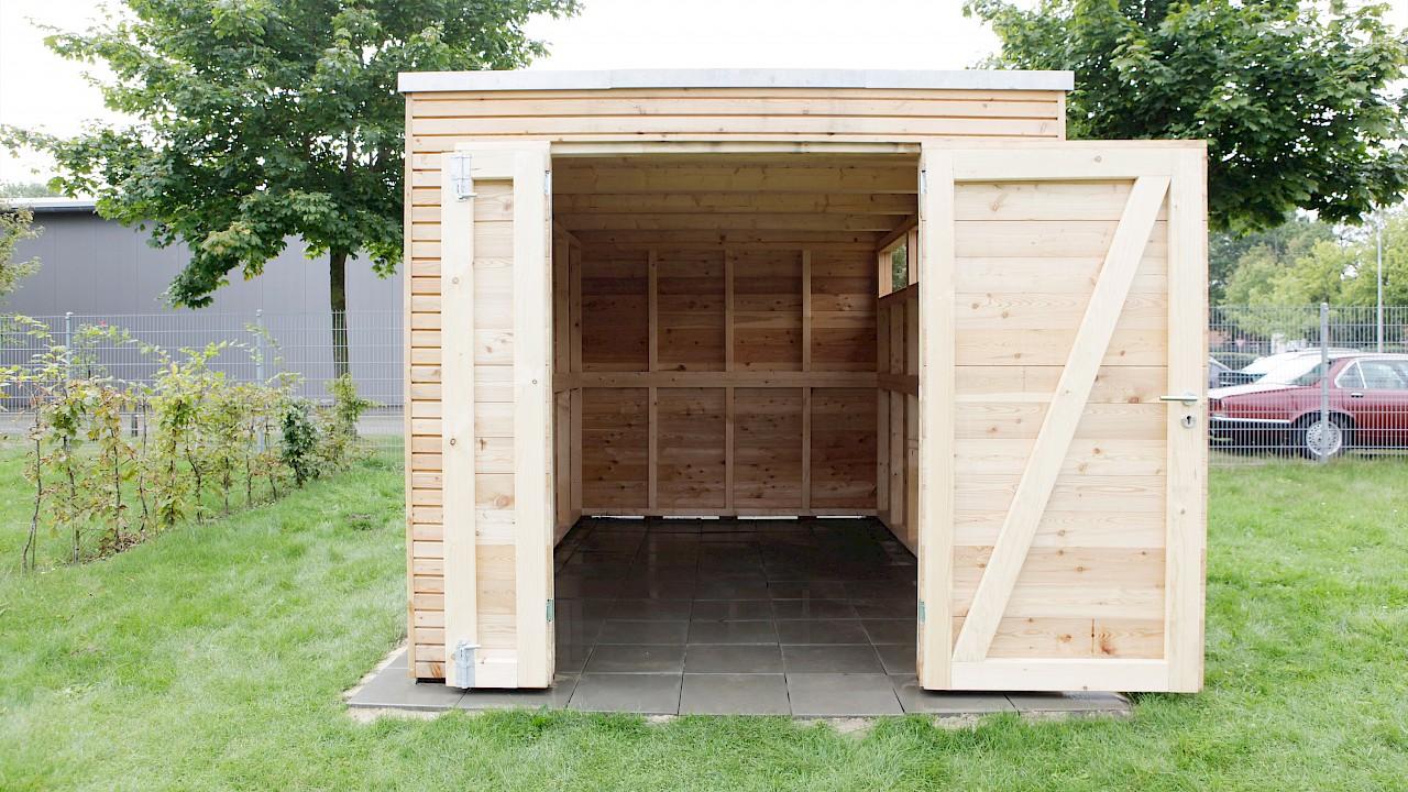 gartenhaus woody | ahlers gartenhausmanufaktur