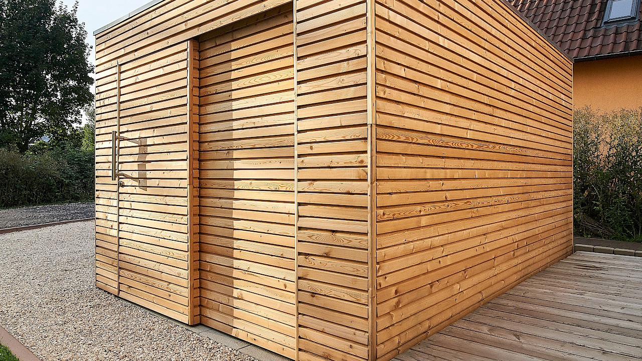 gartenhaus woody ahlers gartenhausmanufaktur. Black Bedroom Furniture Sets. Home Design Ideas