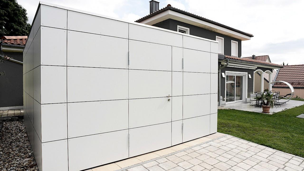 Gartenhaus puuro ahlers gartenhausmanufaktur - Gartenhaus fassadenplatten ...